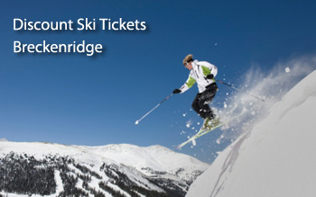 breckenridge discount ski tickets and by owner lodging